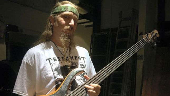 TESTAMENT Bassist STEVE DI GIORGIO Joins New Project