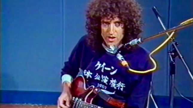 "QUEEN - Vintage ""Crazy Little Thing Called Love"" Guitar Tutorial From BRIAN MAY Streaming"