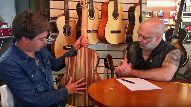 "THOMAS ZWIJSEN Discusses Upcoming ""Thomas Zwijsen Signature Model"" With BLAZE BAYLEY; Video"