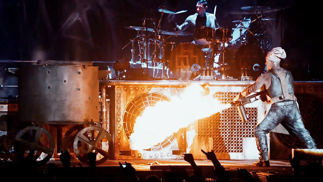 RAMMSTEIN - Fan-Filmed Video Of Complete Montebello Rockfest 2017 Show Posted