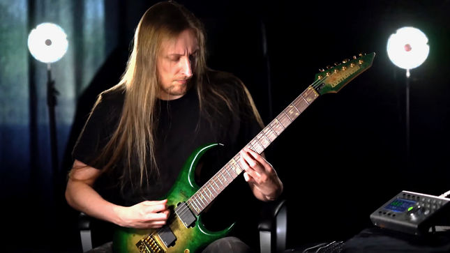 """WINTERSUN - """"The Forest That Weeps (Summer)"""" Guitar Playthrough Video Streaming"""