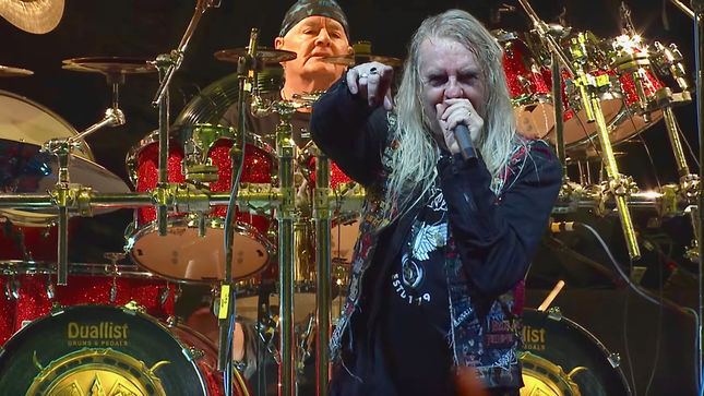 SAXON Launch Video Trailer For Upcoming Solid Book Of Rock Box Set