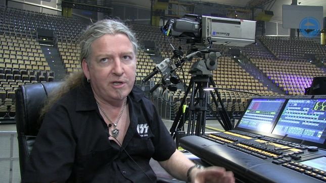 "KISS - Go Behind-The-Scenes With Lighting Tech SEAN ""MOTLEY"" HACKETT (Video)"