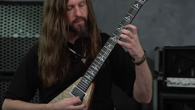 "ALL THAT REMAINS Guitarist OLI HERBERT - ""Victory Lap"" Solo Lesson Video Posted"