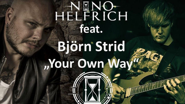 "NINO HELFRICH Launches Guitar Playthrough Video For ""Your Own Way"" Featuring SOILWORK Frontman BJÖRN ""SPEED"" STRID"