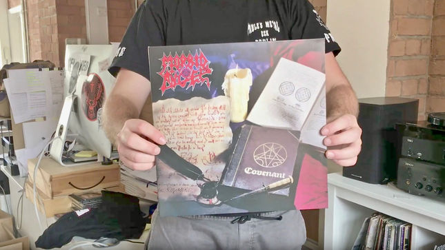 MORBID ANGEL - Video Trailer Posted For Upcoming Covenant Full Dynamic Range Vinyl
