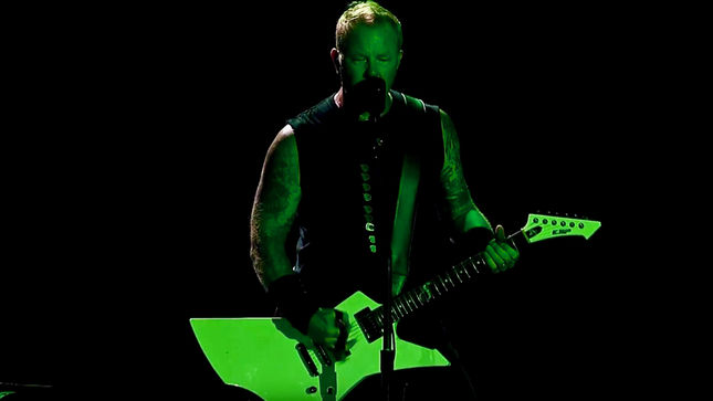 "METALLICA Perform ""Harvester Of Sorrow"" Live In Quebec City; Pro-Shot Video Streaming"