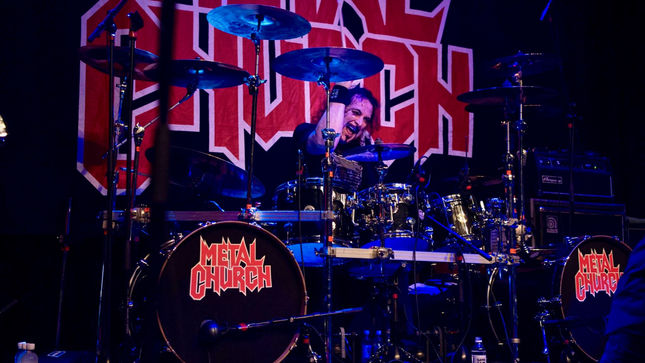 "METAL CHURCH / Ex-W.A.S.P. Drummer STET HOWLAND Fighting Undiagnosed Illness In Massachusetts Hospital, ""Starting To Feel A Little Better Each Day"""