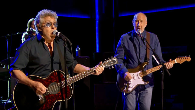 "THE WHO Perform Classic Hits ""I Can See For Miles"", ""You Better You Bet"" On The Tonight Show Starring Jimmy Fallon; Video Streaming"