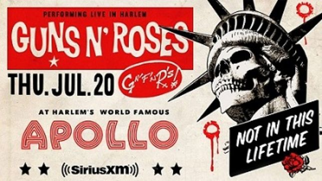 guns n 39 roses video from intimate show at apollo theater. Black Bedroom Furniture Sets. Home Design Ideas