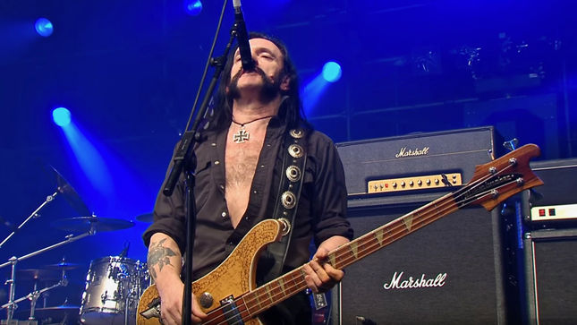 "MOTÖRHEAD To Release Under Cöver Album In September; Includes Unreleased Version Of DAVID BOWIE's ""Heroes""; Video Trailer"