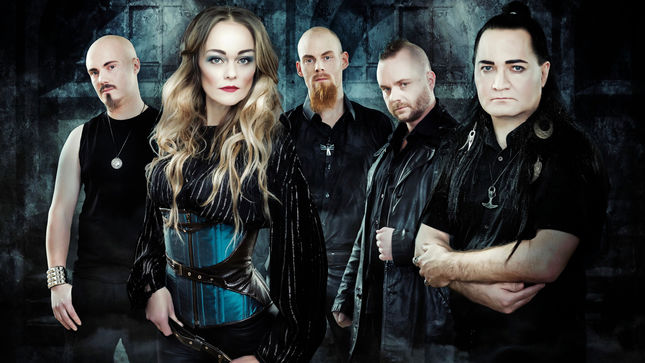 "AMBERIAN DAWN Release ""Sky Is Falling"" Lyric Video"
