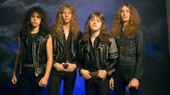 "METALLICA Release Rare 1986 ""Battery"" Performance Video From Japan"