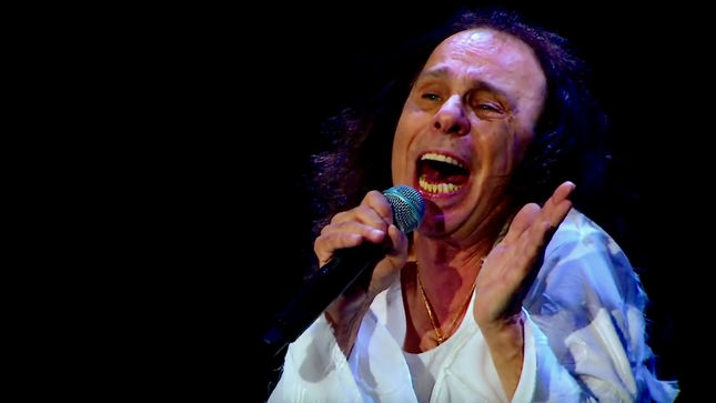 """RONNIE JAMES DIO Hologram Tour To Expand - """"We're In Talks,"""""""