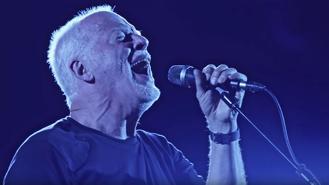 "PINK FLOYD Legend DAVID GILMOUR Streaming ""A Boat Lies Waiting"" Excerpt From Upcoming Live At Pompeii Release; Deluxe Box Set Unboxing Video Posted"