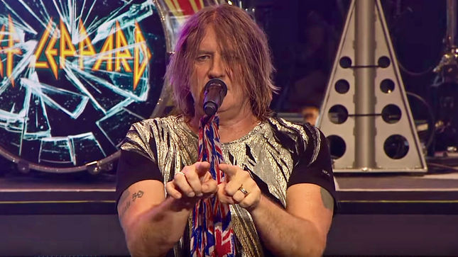 "DEF LEPPARD Frontman JOE ELLIOTT On Hysteria - ""I'm Not Musically Comparing It To Hotel California Or Rumours, But, To Our Audience, It's That Kind Of Record That Has Lasted The Test Of Time"""