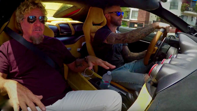 SAMMY HAGAR - Season Finale Of Rock And Roll Road Trip Airs Sunday; Sneak Peek Video Featuring ADAM LEVINE Streaming