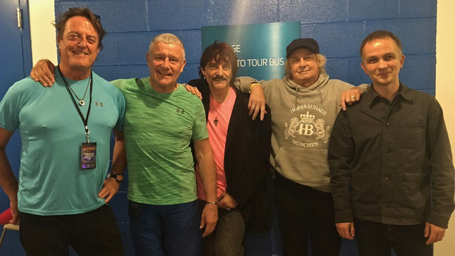 CARL PALMER's Drummer Summit - Five Legendary Drummers Hang Out At Coney Island Yestival Date
