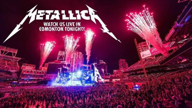 METALLICA - Live Stream Of Entire Edmonton Show Available