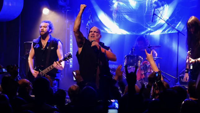 BLAZE BAYLEY To Release Live Album / DVD And Book For Trilogy Albums In 2019; Endure And Survive Tour Video Report Available