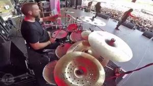 "CRYPTOPSY - ""Slit Your Guts"" Drum Cam Footage From Brutal Assault Festival 2017 Posted"