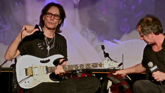 "STEVE VAI - ""The Idea Of Becoming Successful Was Actually Frightening To Me""; 'BackStory Presents' Live Stream Now Available (Video)"