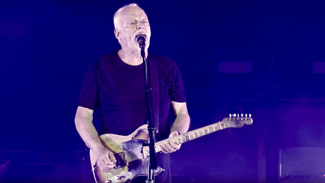 "DAVID GILMOUR Streaming ""Today"" Excerpt From Upcoming Live At Pompeii Release; Video"