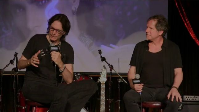 STEVE VAI - In-Depth Video Interview From The Cutting Room In New York City Posted