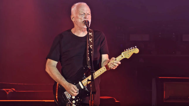 "DAVID GILMOUR Streaming ""Time"" / ""Breathe (In The Air)"" Excerpt From Upcoming Live At Pompeii Release; Video"
