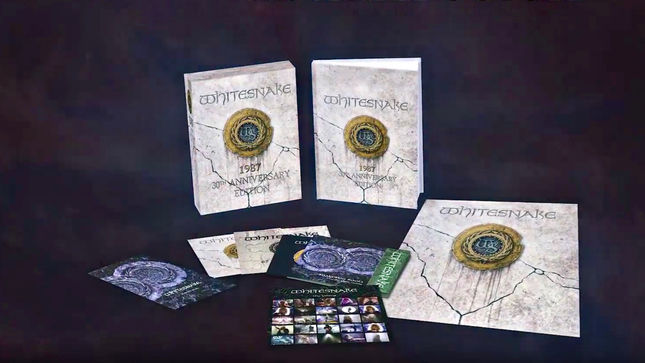 WHITESNAKE - Video Trailer Posted For 30th Anniversary Super Deluxe Edition Of 1987 Album