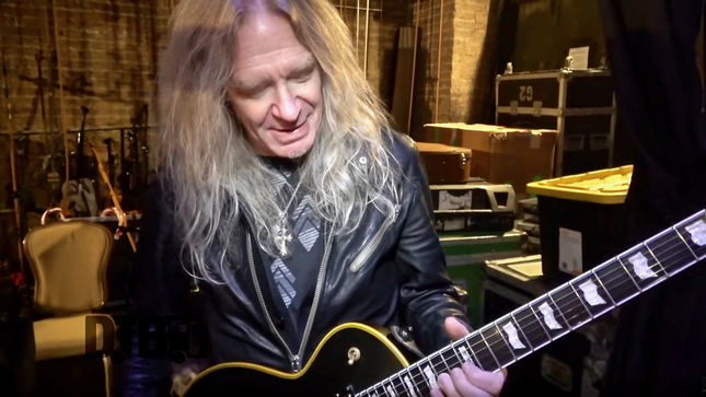 "SAXON Guitarist DOUG SCARRATT - ""Guitars Are Kind Of Like Horses For Courses""; New Gear Masters Episode Streaming (Video)"