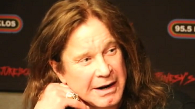 "OZZY OSBOURNE - ""I've Got A Teleprompter And I Still Sing The Wrong Words Sometimes"""