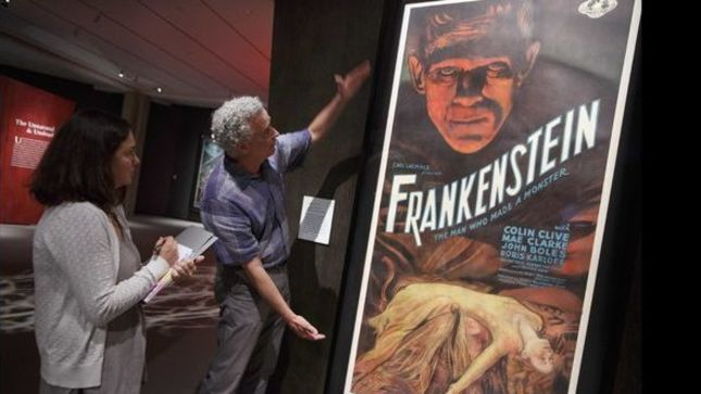 METALLICA - Photo Gallery From KIRK HAMMETT's Monster Movie Poster Exhibition In Salem Available