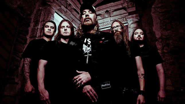 AT THE GATES Begin New Album Recordings (Video); More 2018 Live Dates Confirmed