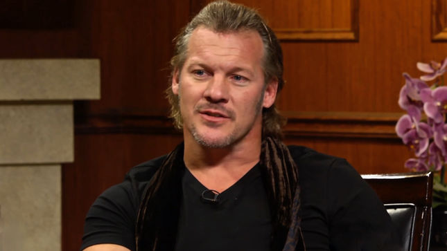 "FOZZY Frontman CHRIS JERICHO Explains Taking Name From HELLOWEEN Album Title - ""There Was This Cassette Tape Of This German Heavy Metal Band…""; Video"