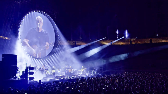 "DAVID GILMOUR Releases Video Snippet Of PINK FLOYD Classic ""Wish You Were Here"" From Upcoming Live At Pompeii Release"