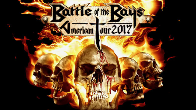 EXODUS, OBITUARY - Video Trailer Posted For Battle Of The Bays North American Co-Headline Tour