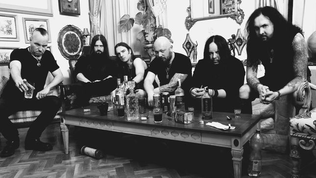 Frédéric Leclercq And Joey Jordison's SINSAENUM To Release Ashes EP In November; Includes Three New Tracks