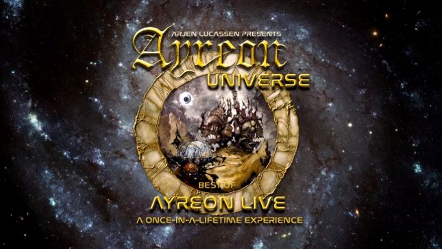 Fan-Filmed Video From AYREON Universe Shows Featuring ARJEN LUCASSEN, FLOOR JANSEN, DAMIAN WILSON, ANNEKE VAN GIERSBERGEN And Many More Posted; Setlist Revealed