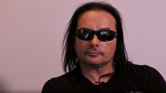 "CRADLE OF FILTH Leader DANI FILTH - ""It's Never Easy To Make An Album… If It Was Everybody Would Be Doing It""; Video"