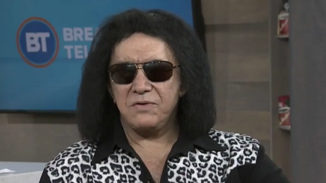 "GENE SIMMONS - Video Of Breakfast Television Appearance - ""My Life Is Wonderful, And It's Only Because Of The Fans"""