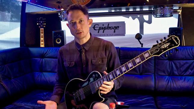 trivium contest launched to win matt heafy s epiphone signature guitar video. Black Bedroom Furniture Sets. Home Design Ideas
