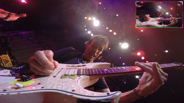 STEVE VAI - Exclusive Live GoPro Guitar Cam View From 2014 Tokyo Show Posted