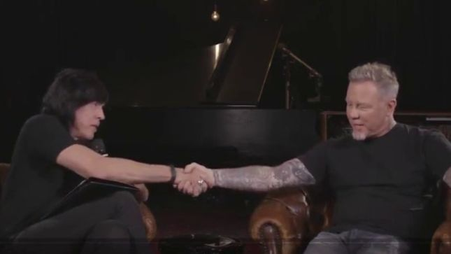 METALLICA - Virgin Radio Interview With JAMES HETFIELD Conducted By MARKY RAMONE Surfaces On YouTube (Video)