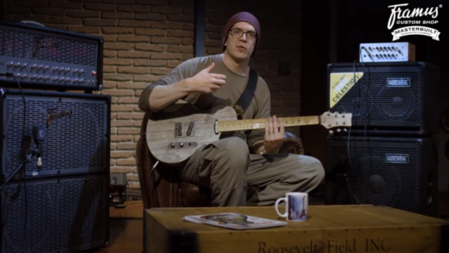 DEVIN TOWNSEND Discusses Framus Blank Signature Guitar In New Video