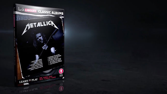 METALLICA - Learn To Play The Black Album With LickLibrary; Video Trailer Streaming