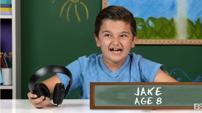 """Kids React To LED ZEPPELIN – """"I Love This Band"""" Says 8-Year-Old JAKE"""