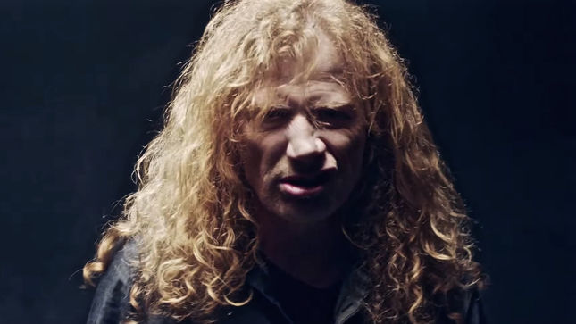 MEGADETH – DAVE MUSTAINE's Voice Featured In New Horror Movie