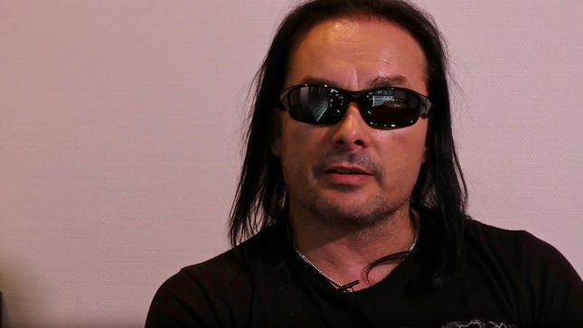 "CRADLE OF FILTH Leader DANI FILTH On Struggling With Creativity - ""These Albums Will Be With Me Until The Day I Die""; Video"