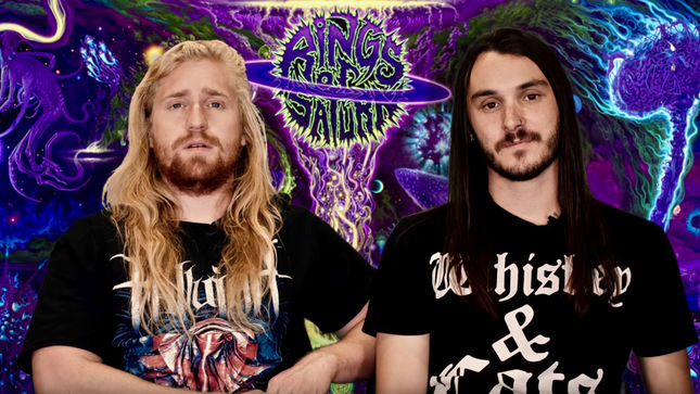 RINGS OF SATURN Discuss Reception Of New Album, Future Plans; Video